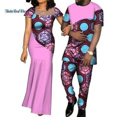 Wholesale Party Wedding Dresses Pursure Cotton African Style Traditional Party Dress Clothing For Women And Men - Buy Traditional Party Dress,Wholesale African Style Clothing,Pursure Cotton Cou Couples African Outfits, Latest African Fashion Dresses, African Dresses For Women, African Print Fashion, African Dress Designs, Latest Fashion, Fashion Women, African Shirts For Men, African Attire For Men