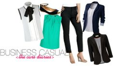 clothes you shouldn't forget when you're heading off to college - business casual clothes!!!