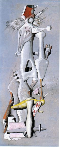 Yves Tanguy  - 1946 - nombres irrationnels