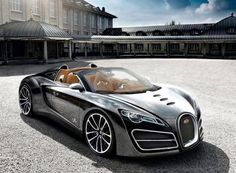 Bugatti Ettore Concept, my favorite car beside my passion for my 3 Jaguar's, Red, White and Gray. The Desert Man Ted