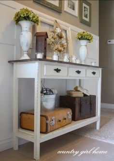 Have the table - ideas on how to accessorize it...