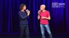 The Umbilical Brothers at Sydney Comedy Festival Cracker Night 2015