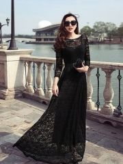 Cheap dresses maternity, Buy Quality dress up plain dress directly from China dress hairstyles Suppliers: Plus Size 2017 Spring Summer Black Lace Hollow Out Women Dress Women Elegant Long Sleeve Maxi Dress Cheap Maxi Dresses, Sexy Maxi Dress, Prom Dresses 2015, Long Summer Dresses, Cheap Evening Dresses, Plus Size Maxi Dresses, Cheap Wedding Dress, Cute Dresses, Dresses Dresses