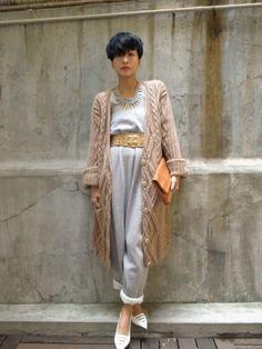 Sweater and sweatpants... #Fashion by Hilary Tsui.