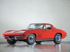The Oldie But Goodie - carsinstudio: Corvette Sting Ray  (1965)