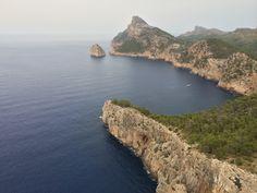 Mirador cercano a Cap de Formentor