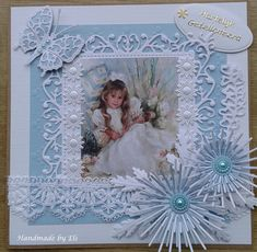 Adult Crafts, Diy Crafts, Scrapbook Pages, Scrapbook Layouts, Scrapbooking, Baby Girl Scrapbook, Hobby House, Shaby Chic, Marianne Design