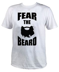 fear the beard tshirt