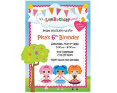 Sew Cute Custom Party Invitation You Print by ThePaperAffairShop, $14.95