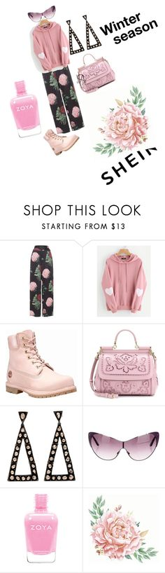 """Untitled #134"" by manusharma-ms ❤ liked on Polyvore featuring Voodoo Vixen, WithChic, Timberland, Dolce&Gabbana and Tom Ford"