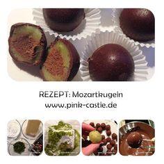 Rezept: Mozartkugeln | recipe Mozart chocolates | visit mit at www.pink-castle.de #pinkcastlediy