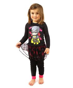 Take a look at this Batgirl Scribblenauts Tutu Pajama Set - Toddler & Girls on zulily today! Cute Girl Outfits, Toddler Outfits, Tutu Costumes Kids, Toddler Girl Style, Toddler Girls, Batgirl, Diy Clothes, Pajama Set, Cute Girls