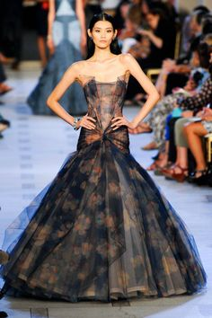 Zac Posen's Iconic Ball Gown Look at Spring 2013 Runway Show | Munaluchi Bridal Magazine