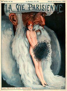 Illustration by Georges Leonnec For La Vie Parisienne December 1926