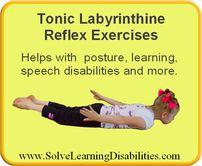 Tonic Labrynthine Reflex Exercises