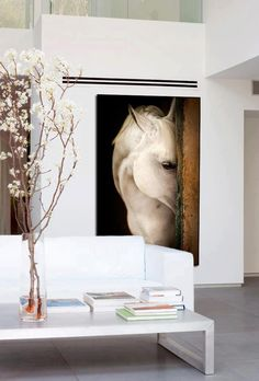 A great horse photo can make a room. paint horses