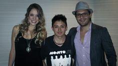 Con Laurita y Juan de Mojito Lite