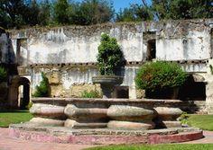 Fuente en ruina de San Jerónimo, Antigua Guatemala, Sacatepequez, Guatemala