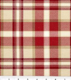 "45"" Home Essentials Print Fabric-Ethan/Red"