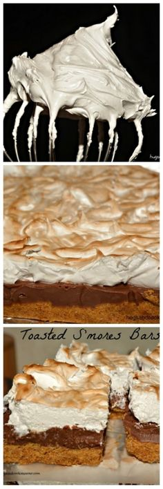 Toasted S'mores Fudge Bars Easy Desserts, Delicious Desserts, Dessert Recipes, Yummy Food, Wow Recipe, Brownie Bar, Dessert Bars, Fudge, Sweet Tooth