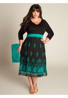Plus Size Heera Dress image  I absolutely love this dress!!