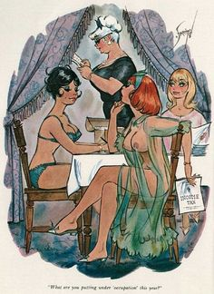 老派成人漫画家、插画家  Doug Sneyd: