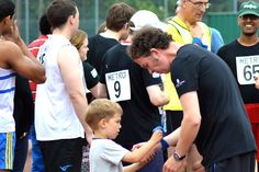 Athletics Open 2015 - Getting ready for a Race - Photographer Christopher Minn