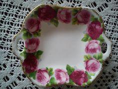 very pretty china tray