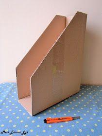 Miss Emma Lys: DIY range-documents Range Document, Home Crafts, Diy And Crafts, Craft Tables With Storage, Papier Diy, Diy Rangement, Scrapbook Storage, Paper Storage, Art N Craft