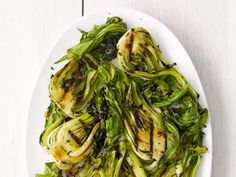 Get Grilled Bok Choy Recipe from Food Network