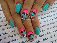 Machine learning meets trending news, viral videos, funny gifs, and so much more. Nail Designs Spring, Nail Art Designs, Jennifer Nails, Go Pink, Mani Pedi, Spring Nails, Hair And Nails, Nail Colors, Beauty