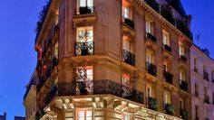 PARIS -   Mon Hotel: From the street, the Mon Hôtel appears to be a stately Parisian townhouse.