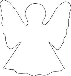 Image result for patroon voor engeltjes van vilt