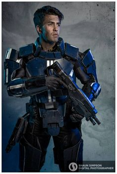 Kaiden Alenko (Mass Effect) by Nathan DeLuca Cosplay