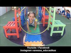 Vamos Brincar no Túnel? Coordenação motora - YouTube