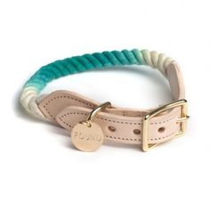 Found Rope Collar by Petswag