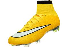 Nike Mercurial Superfly FG Soccer Cleats - Laser Orange and Black