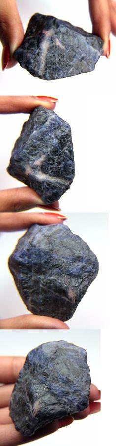 Sodalite 69179: Phenomenal 425.08 Ct. Blue White Sodalite Slices Rough Mineral Specimen -> BUY IT NOW ONLY: $34.99 on eBay!