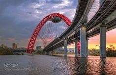 Sunset under the bridge by monday2020 #fadighanemmd