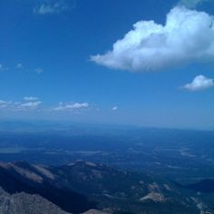 Pikes Peak  I have been here. In the clouds.
