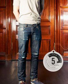 Grim Tim Org. Dry Selvage - Nudie Jeans Co Online Shop