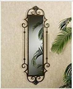 Resultado de imagem para wrought iron mirrors                                                                                                                                                                                 Más