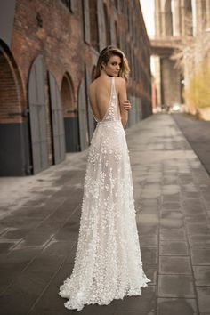 Belle robe mariée bohème chic robe mariée bohème cool robe longue