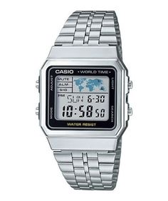 asio-A500WA-1-7-A500WGA-1-7-9-Digital-watch-Silver-Gold-Tone-Stainless-Steel
