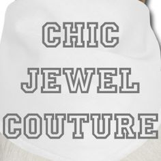 Chic Jewel Couture Pet bandana | Chic Jewel Couture by Melanie Falvey