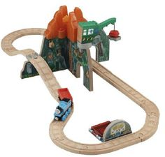 Thomas & Friends Volcano Park Deluxe Set (New): The Dino Park is being built around the site of a volcano. $209.99 (coming soon at Toys and Stuff - order 2 sets and get $20 off)