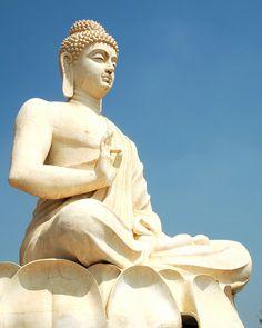The Buddha of Belum Caves, Andhra Pradesh, India