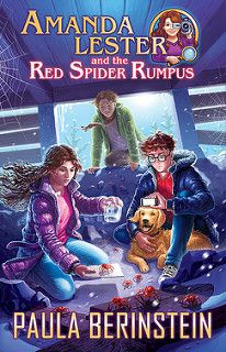 Cover Reveal: Amanda Lester and the Red Spider Rumpus by Paula Berinstein