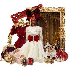 Disney Style : Victorian Christmas Minnie