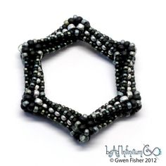 Hey, I found this really awesome Etsy listing at https://www.etsy.com/listing/113085931/highly-unlikely-hexagon-beaded-bead-no3